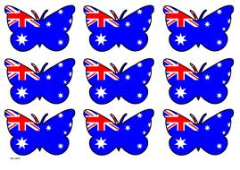 Butterfly Themed Australian Flag (3x3).pdf