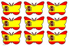 Butterfly Themed Spain Flag (3x3).pdf