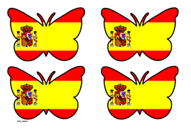 Butterfly Themed Spanish Flag (Small).pdf