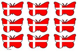 Butterfly Themed Denmark Flag (3x3).pdf
