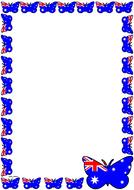 Australian Flag Themed  Pageborder (Portrait).pdf