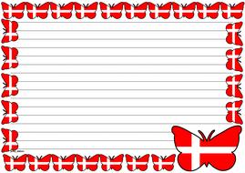 Denmark Flag Themed Lined paper (Landscape).pdf