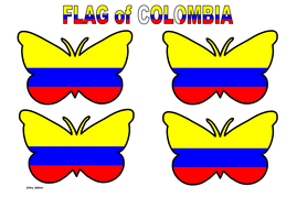 Butterfly Themed Colombia Flag (Small).pdf