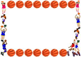 Basketball Themed Pageborder (Landscape).pdf