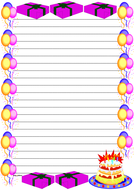 Birthday Themed Lined Paper (Portrait).pdf
