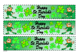 St. Patrick's Themed Cut-out Border