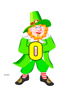 St. Patrick's Themed Numbers 0-50 and in words