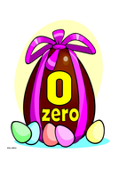 Easter Themed Numbers 0-20 with Words