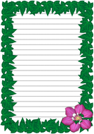 Spring Time Themed Lined Paper (Portrait).pdf