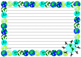 Earth Day Themed Lined Paper (Landscape).pdf