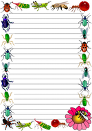 Insects Themed Lined Paper (Portrait).pdf