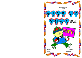 Grade 1-Wits to Work #2 (Math word problems)