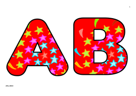 Stars Themed Upper Case Alphabet and Numbers (4).pdf