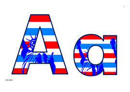 Statue of Liberty Themed Upper and Lower Case and Numbers.pdf