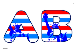 Statue of Liberty Themed Upper Case Alphabet and Numbers.pdf