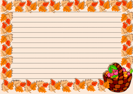 Thanksgiving Day Themed Lined Paper Landscape (1).pdf
