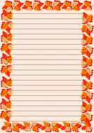 Thanksgiving Themed Lined Paper (Portrait).pdf