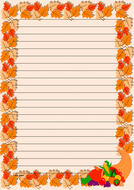 Thanksgiving Day Themed Lined Paper Portrait (2).pdf