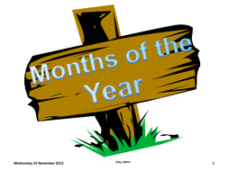 Months of the Year on Sign Posts.pdf