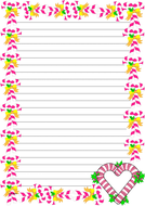 Candy Canes Themed Lined Paper (Portrait).pdf