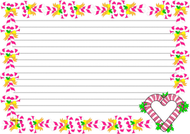 Candy Canes Themed Lined paper (Landscape).pdf