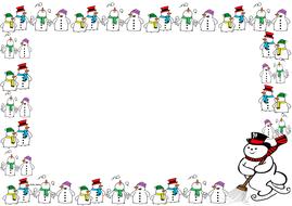 Snowman Themed Pageborder (Landscape).pdf
