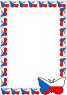 Czech Republic Flag Themed Pageborder (Portrait).pdf