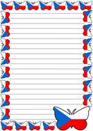 Czech Republic Flag Themed Lined Paper (Portrait).pdf