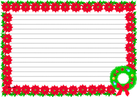 Christmas Themed Lined paper (Landscape).pdf