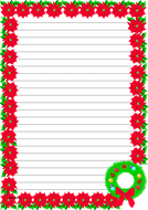 Christmas Themed  Lined Paper (Portrait).pdf