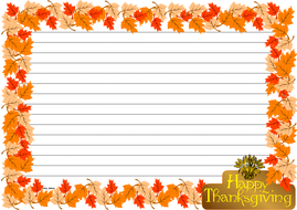 Thanksgiving Day Themed Lined paper Landscape (3).pdf