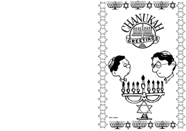 Chanukah Day Themed Card (BW) 1.pdf