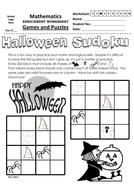 Halloween Themed Sudoku 4x4 (3) B&W.pdf