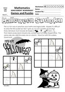 Halloween Themed Sudoku 4x4 (1) B&W.pdf