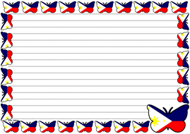 The Philippine Flag Themed Lined paper (Landscape).pdf