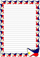 The Philippine Flag Themed Lined Paper (Portrait).pdf