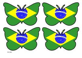 Butterfly Themed Brazilian Flag (Small).pdf
