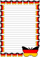 German Flag Themed Lined Paper (Portrait).pdf