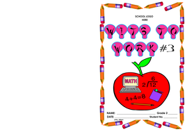 Grade 2-Wits to Work #3 (math word problems)