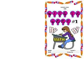 Grade 5-Wits to Work #1 (math word problems)