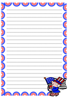 4th of July Themed Lined Paper (Portrait).pdf