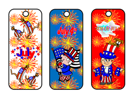 4th of July Themed Bookmarks.pdf