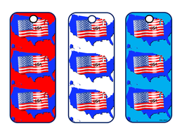 Independence Day Themed Bookmarks