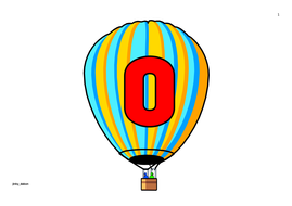 Hot Air Balloon Themed Numbers 0-100 and in Words