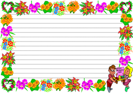 'Happy Mother's Day' Themed Lined paper (Landscape).pdf