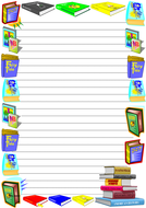 World Literacy Day Themed Lined Paper (Portrait).pdf
