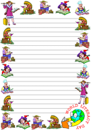 'World Literacy Day' Lined Paper (Portrait).pdf