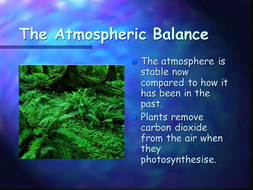 Atmospheric balance PowerPoint