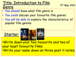 Film Genre lesson.ppt