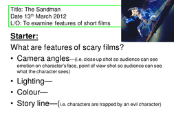 Sandman film review share my lesson.ppt